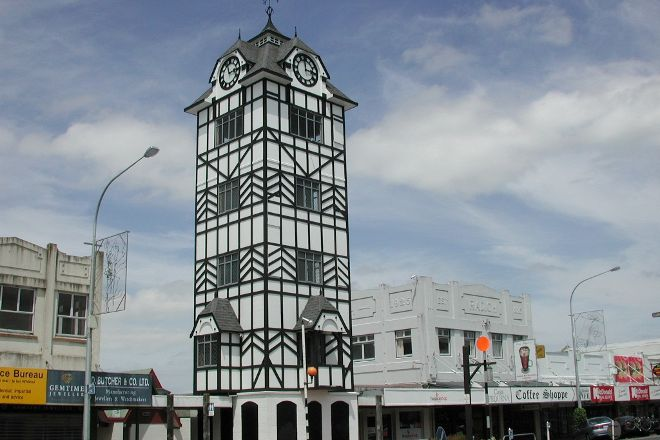 Stratford Clock Tower, Stratford, New Zealand