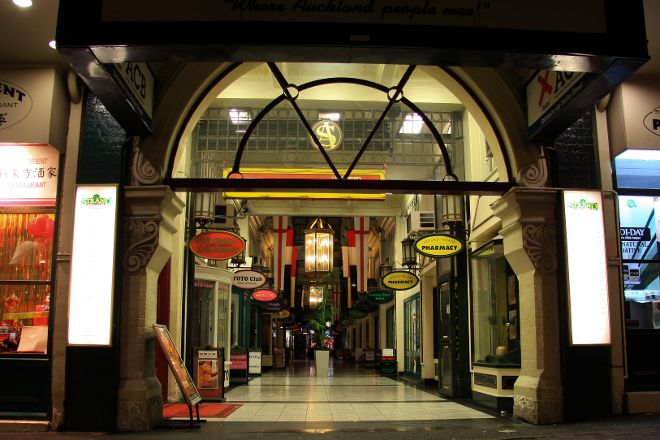 The Strand Arcade, Auckland, New Zealand