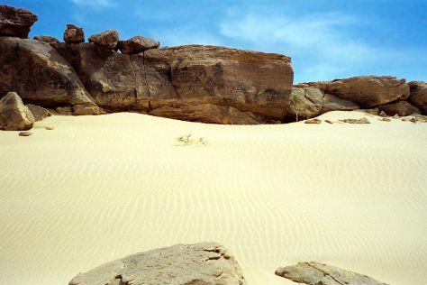 Niger Sahara, Zinder Region, Niger