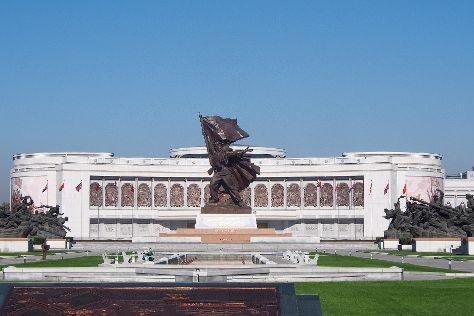 Victorious Fatherland Liberation War Museum, Pyongyang, North Korea