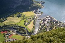 Aurlandsfjellet National Tourist Route, Aurlandsvangen, Norway