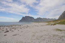 Uttakleiv Beach, Leknes, Norway