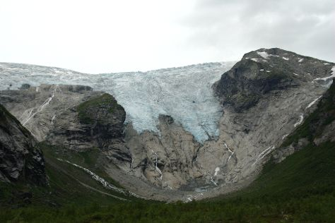 Bergsetbreen, Jostedal, Norway
