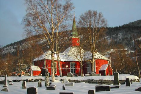 Dolstad Church, Mosjoen, Norway