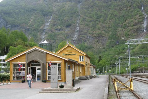 Flaamsbana Museet, Flam, Norway
