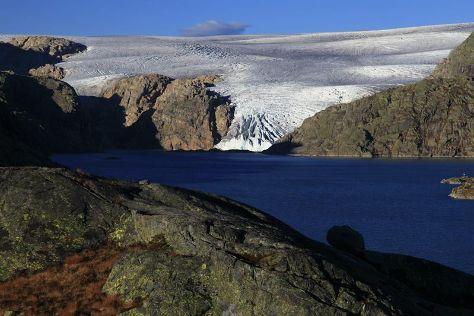 Folgefonna nasjonalpark, Rosendal, Norway