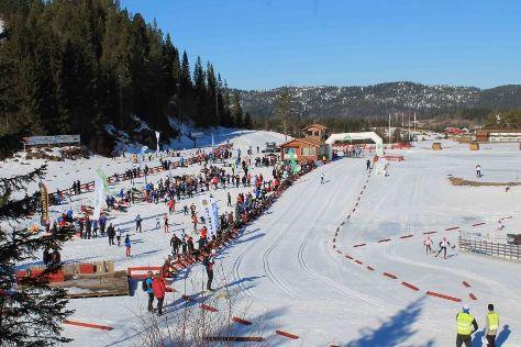 Knyken Ski Center, Fannrem, Norway