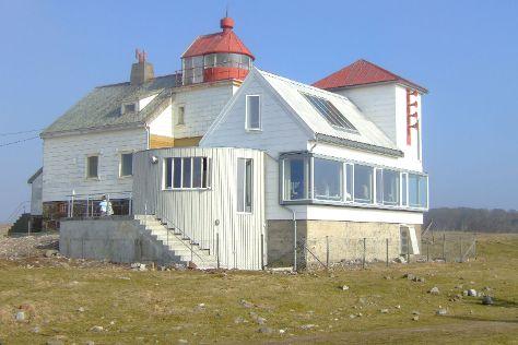 Kvassheim Lighthouse, Brusand, Norway