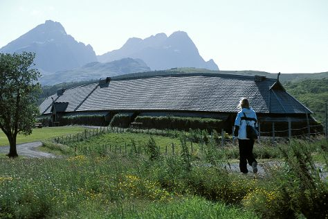 Lofotr Viking Museum, Bostad, Norway