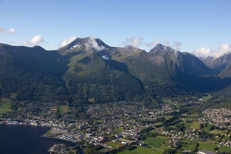 Saudehornet, Orsta, Norway