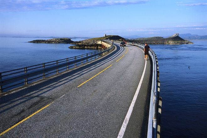 Atlantic Road, Averoy Municipality, Norway