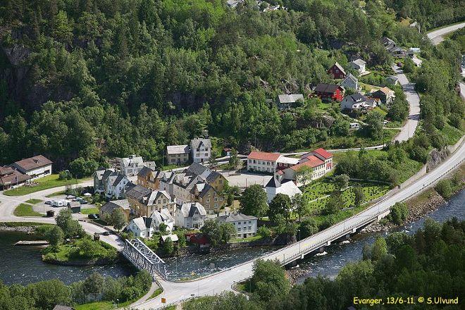 Evanger Landhandleri, Evanger, Norway