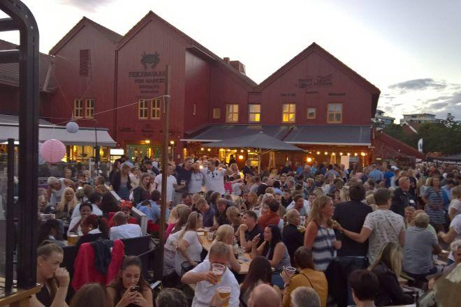 Fiskebrygga, Kristiansand, Norway