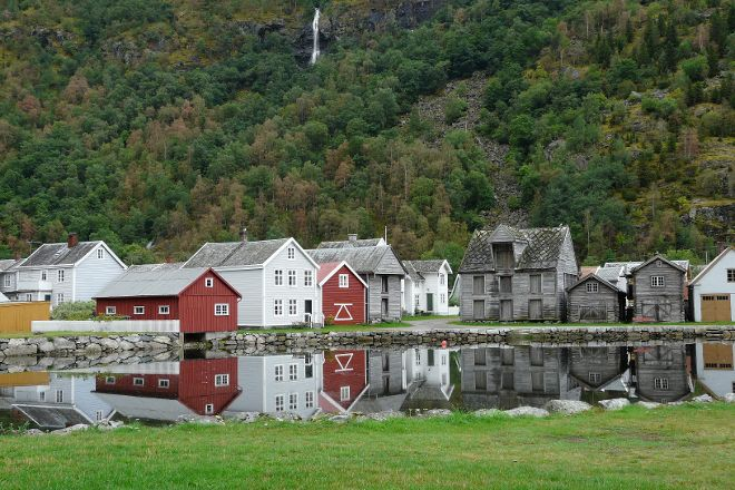 Gamle Laerdalsoeyri, Laerdalsoyri, Norway