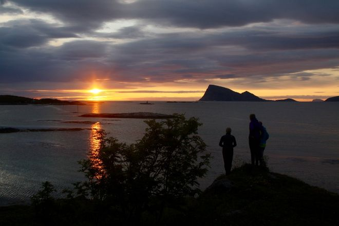 Himmelsjaa naturvegledning, Sommaroy, Norway