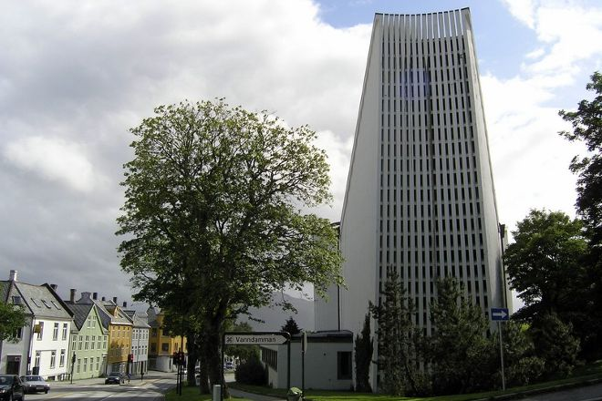 Kirkelandet kirke, Kristiansund, Norway