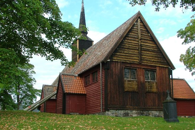 Kvernes Stave Church, Kvernes, Norway