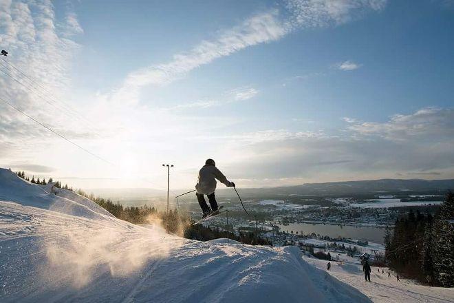 Modum Skisenter, Vikersund, Norway