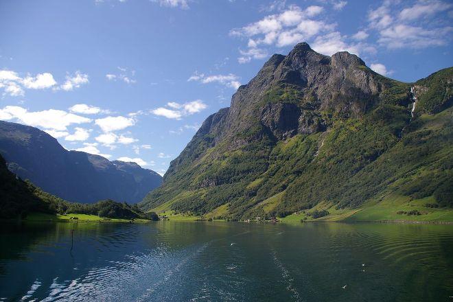 Naeroyfjord, Western Norway, Norway
