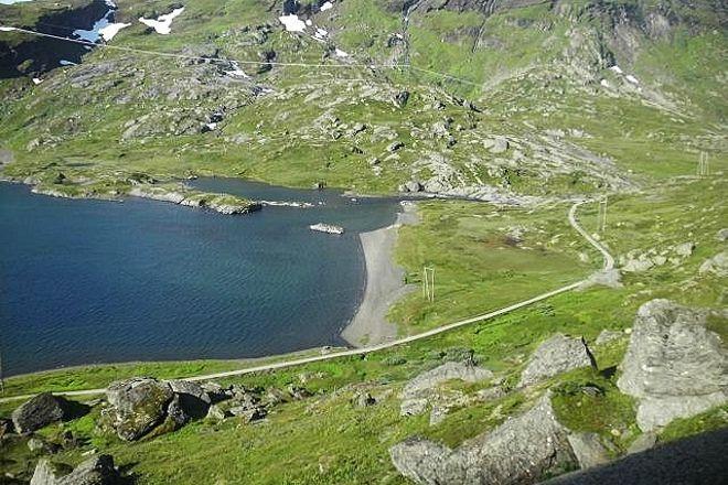 Rallarvegen, Aurland Municipality, Norway
