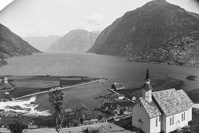 Sunnylven Church, Hellesylt, Norway