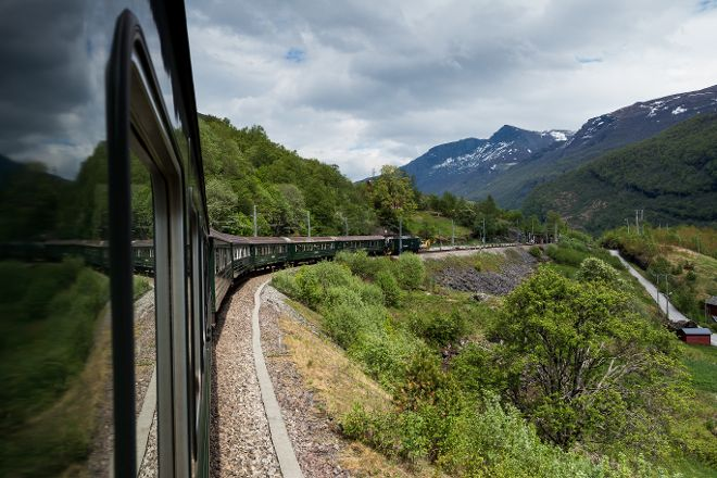 The Flam Railway, Flam, Norway