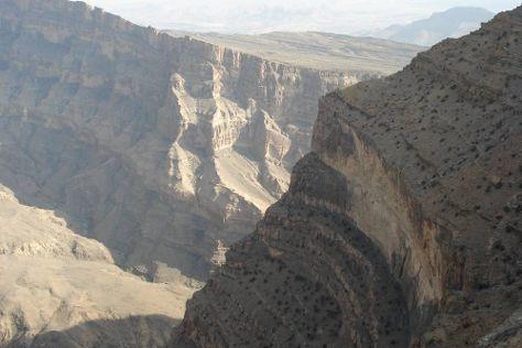 Wadi Ghul - Oman's Grand Canyon, Al Hamra, Oman