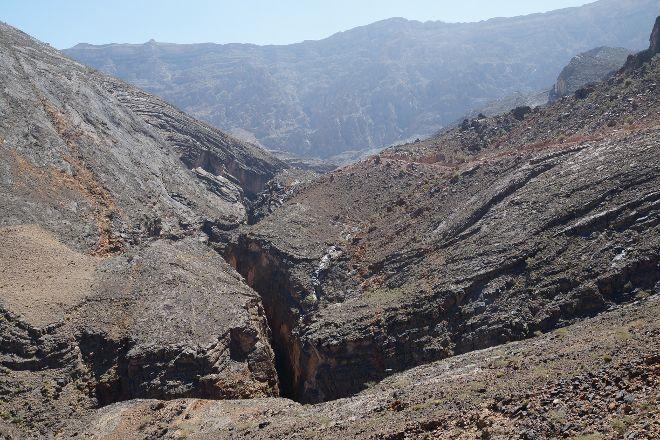 Snake Canyon, Wadi Bani Awf, Oman