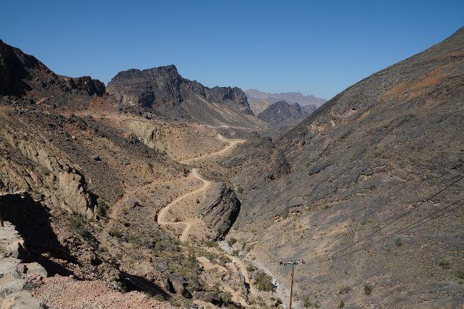 Track Wadi Bani Awf, Al Hamra, Oman