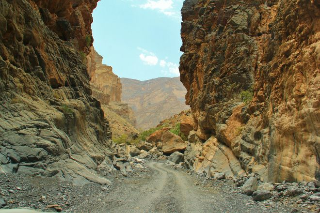 Wadi Nakhr Canyon, Al Hamra, Oman