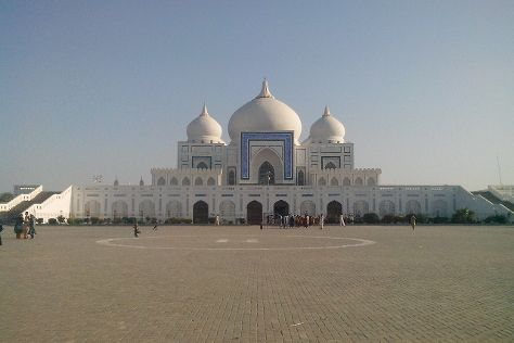 Bhutto Family Mausoleum, Larkana, Pakistan