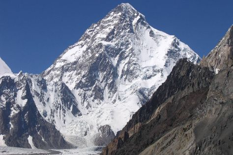 K2 Mountain, Gilgit-Baltistan, Pakistan