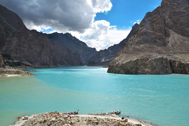 Attabad lake, Hunza, Pakistan