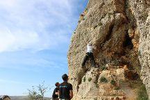 Wadi Climbing, Ramallah, Palestinian Territories