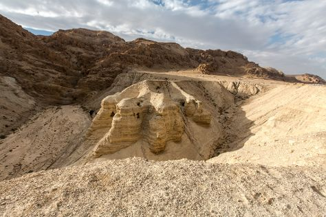 Qumran Caves, Dead Sea Region, Palestinian Territories