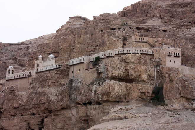 Mount of Temptation Monastery, Jericho, Palestinian Territories