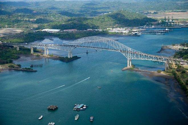 Bridge of the Americas, Panama City, Panama