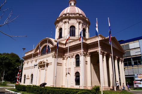 The National Pantheon of Heroes and Oratory of the Virgin Our Lady Saint Mary of the Asuncion, Asuncion, Paraguay