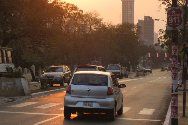 Avenida Mariscal Lopez, Asuncion, Paraguay