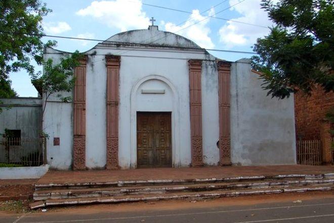 Campanario de la iglesia Santa Rosa de Lima, Santa Rosa, Paraguay