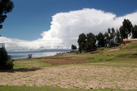 Amantani Island, Isla Amantani, Peru