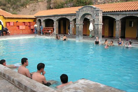 La Calera Thermal Waters, Chivay, Peru