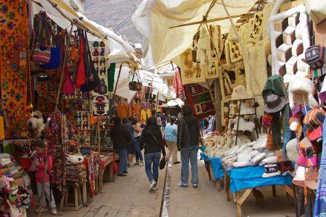 Pisac Market, Pisac, Peru