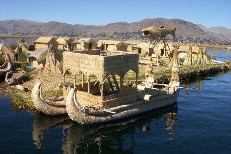 Uros Floating Islands, Puno, Peru