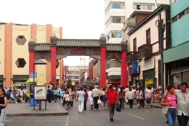 Barrio Chino, Lima, Peru
