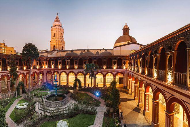 Basilica y Monasterio de Santo Domingo, Lima, Peru