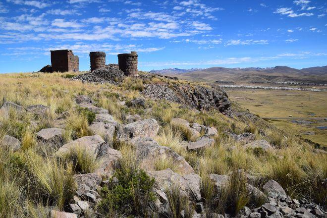 Chullpas, Cutimbo, Peru