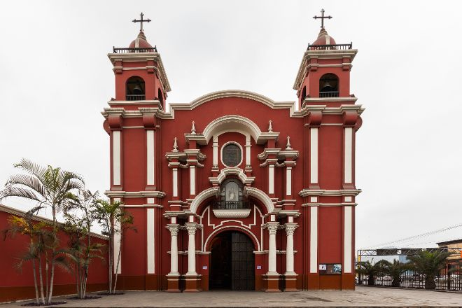 Church and Sanctuary of Saint Rose of Lima, Lima, Peru