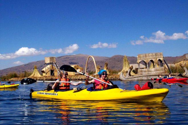 Inca Lake, Puno, Peru