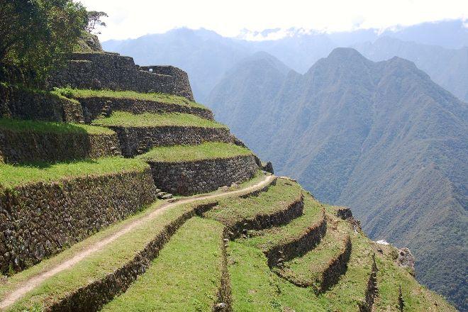 The Ruins of Intipata, Machu Picchu, Peru